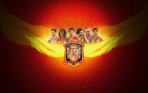 Spain National Football Team wallpaper titled España