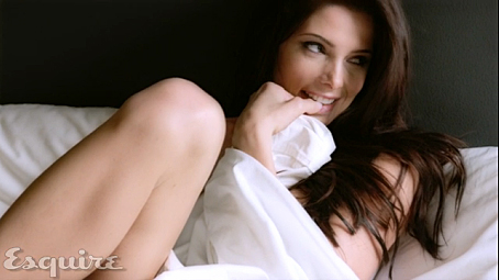 Ashley Greene achtergrond possibly with a bridesmaid and skin titled Esquire USA shoot