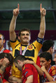 Euro 2012 final: Spain v Italy - Casillas celebrating victory - iker-casillas photo