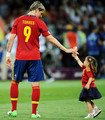Euro 2012 final: Spain v Italy - Torres celebrating victory - fernando-torres photo