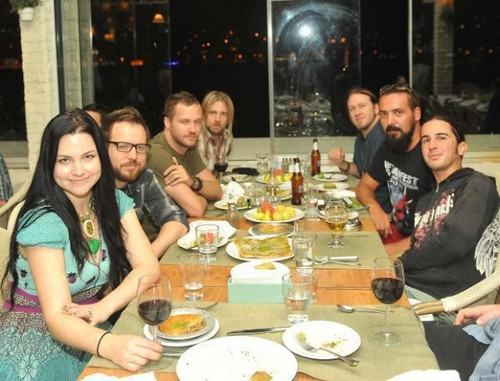 evanescence in Istanbul