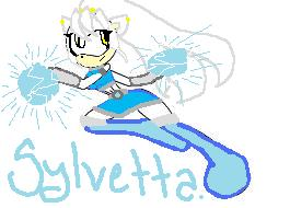 Female Silver =Slyvetta The Hedgehog And Again do not copy