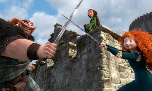 Fergus, Elinor and Merida