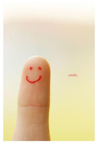 Finger Smile