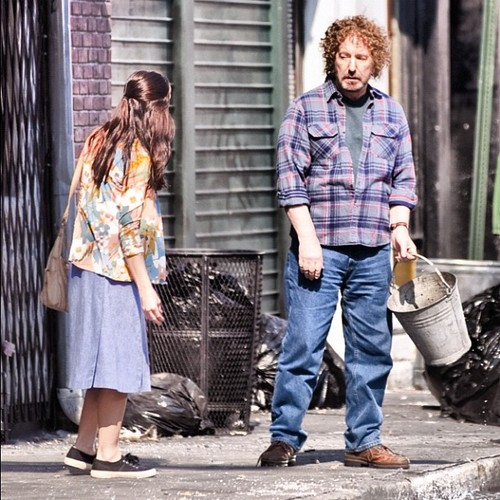 First look at Ashley in CBGB - On set pics (29/06/12)