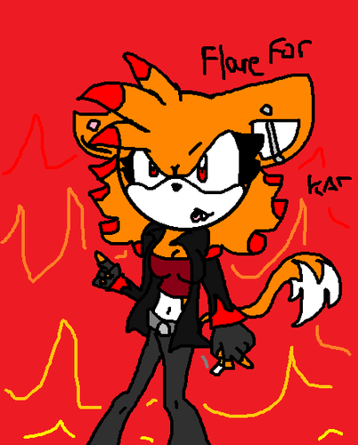 Flare the Cat