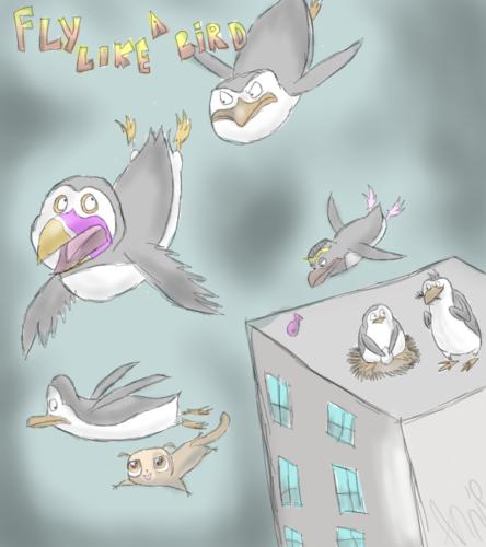 Fly Like a bird XDD