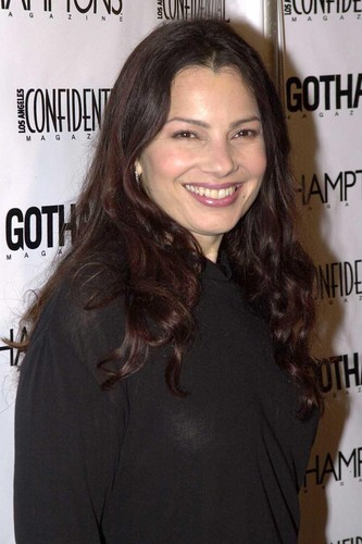 Fran Drescher Hintergrund containing a portrait entitled Fran