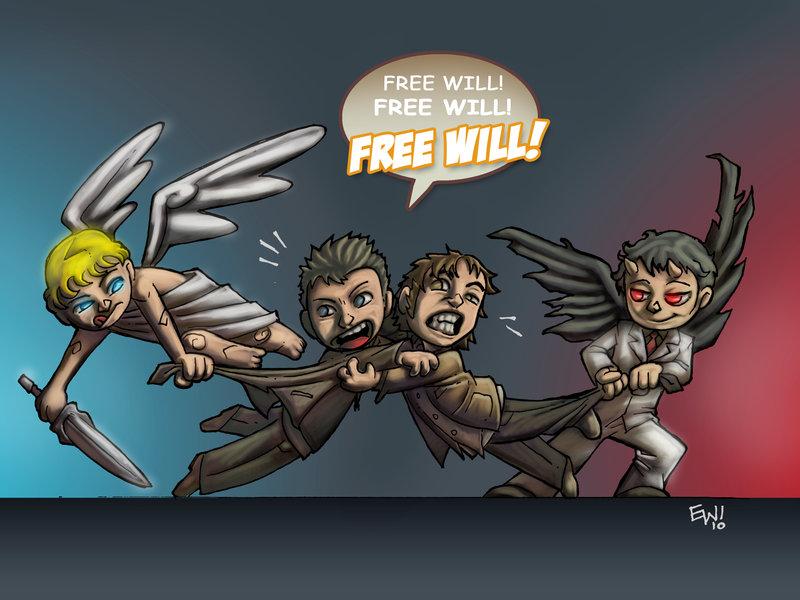 Free Will Supernatural Fan Art 31347223 Fanpop