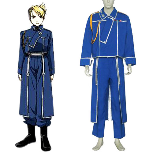 FullMetal Alchemist Riza Hawkeye Military Cosplay Costume - female-ass-kickers Photo