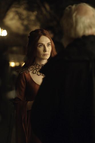 Melisandre & Maester Cressen