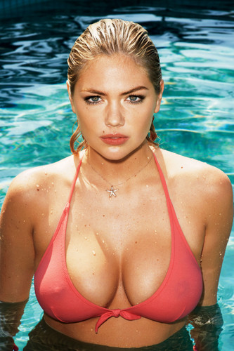 Kate Upton پیپر وال containing a bikini titled GQ [July 2012]