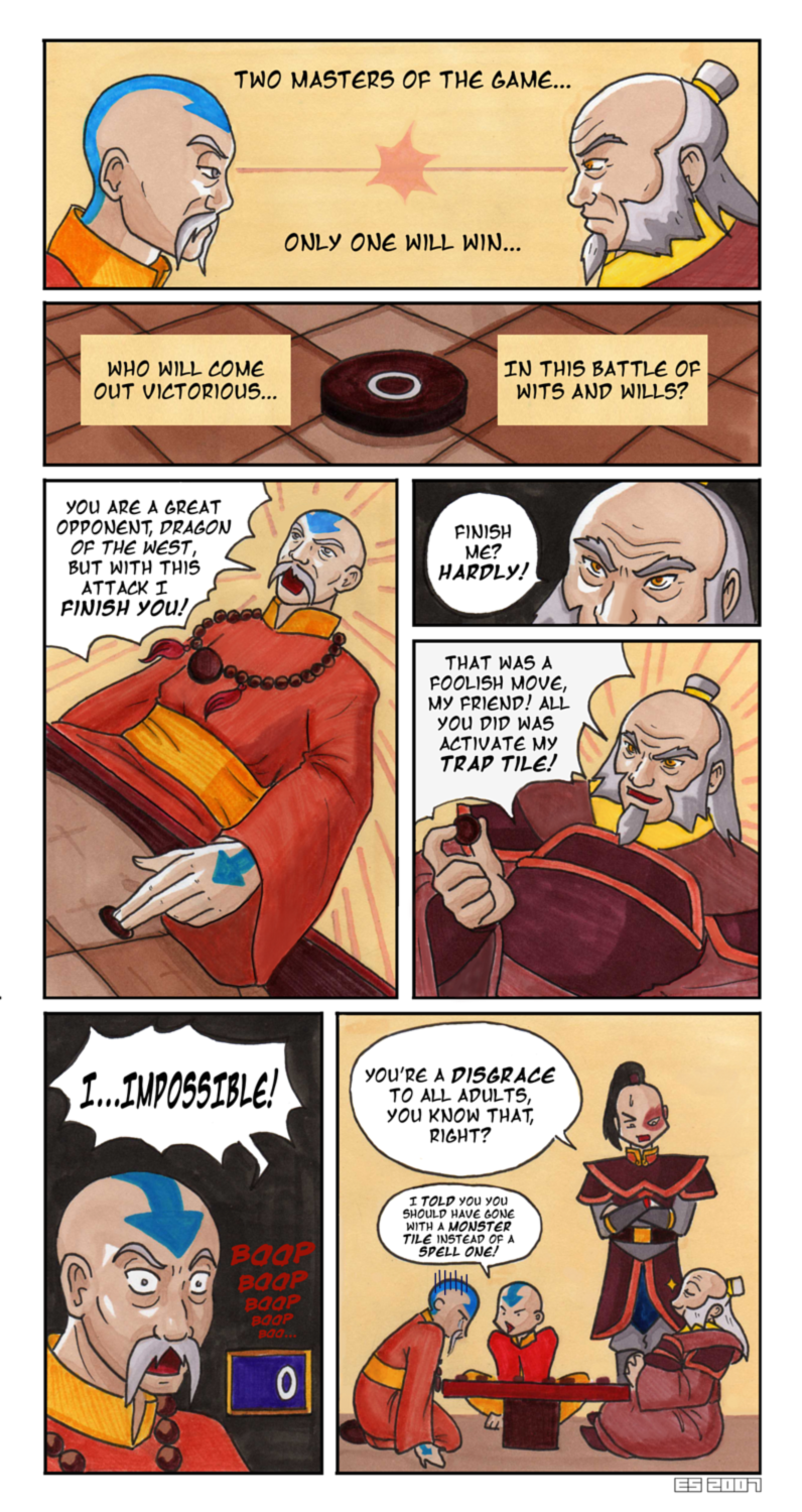 Game Masters: Iroh VS Gyatso