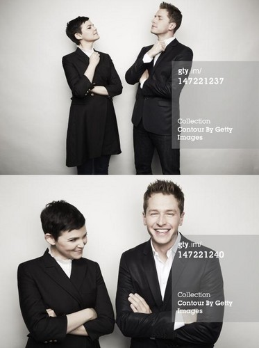 Ginnifer Goodwin & Josh Dallas  - once-upon-a-time Photo