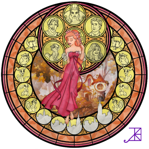 Giselle Stained Glass