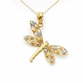 Gold Dragonfly Jewerly