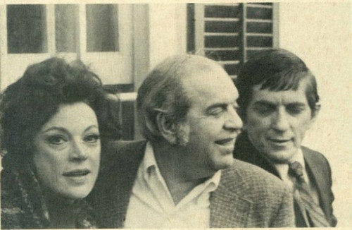 Grayson and Sam Hall and Jonathan Frid