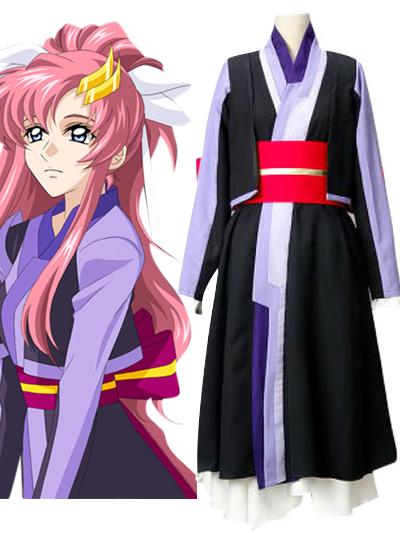 Gundam Seed Lacus Clyne Chair Version Cosplay Costume