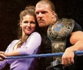 HHH and steph - triple-h-and-stephanie-mcmahon photo