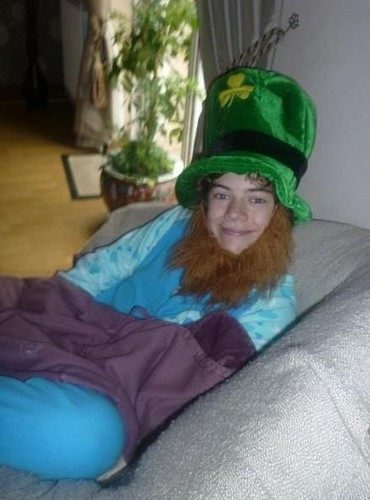 Harry as a leprechaun