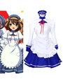 Haruhi Suzumiya Tsuruya Maid Cosplay Costume