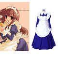 Haruhi Suzumiya Tsuruya Maid Dress Cosplay Costume