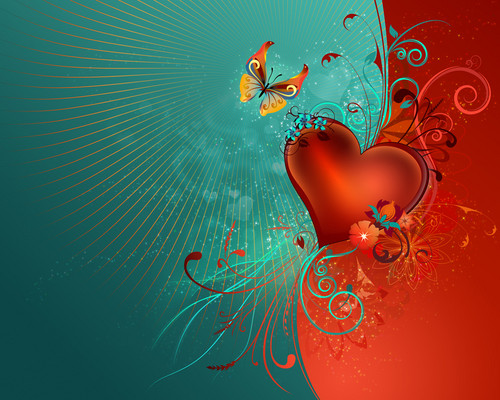 Heart wallpaper - beautiful-pictures Wallpaper