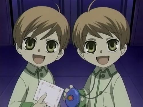 Hikaru and Kaoru as Kids