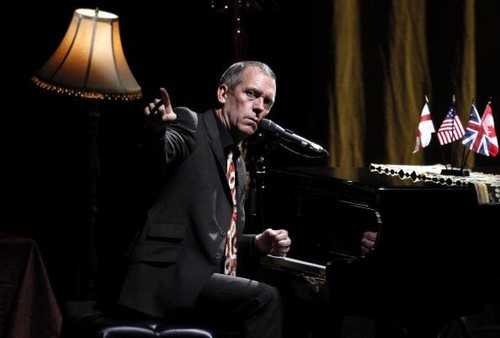 "Hugh Laurie tamasha at the ""HMV Hammersmith Apollo"" - London.. 02.07.2012"