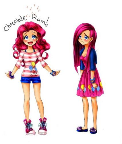 Humanized Pinkie Pie
