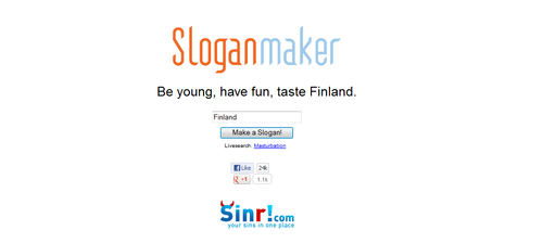 I don't recall the last time I tasted Finland...