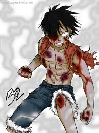 I love Luffy