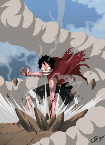 monkey d. luffy wallpaper titled I amor Luffy
