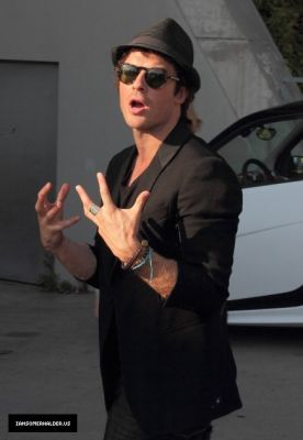 Ian Leaving The Crimson Sky Convention in Vienna