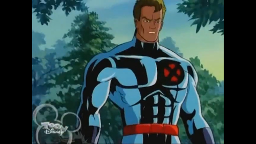X-Men wallpaper possibly containing a surcoat and a tabard entitled Iceman 'X-men : The Animated Series'