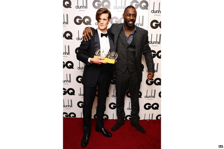 Idris Elba and Matt Smith @ GQ Men of the anno Awards