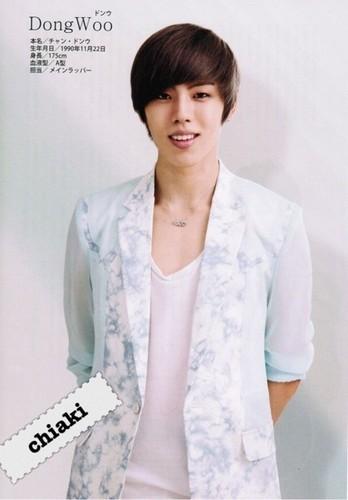 Infinite for K-POP HIT CHART MAGAZINE 2012 August Issue