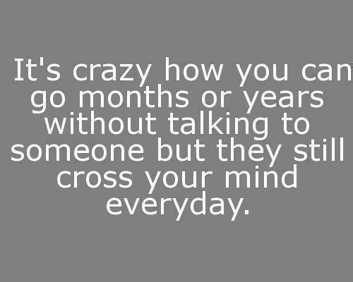 It's crazy...