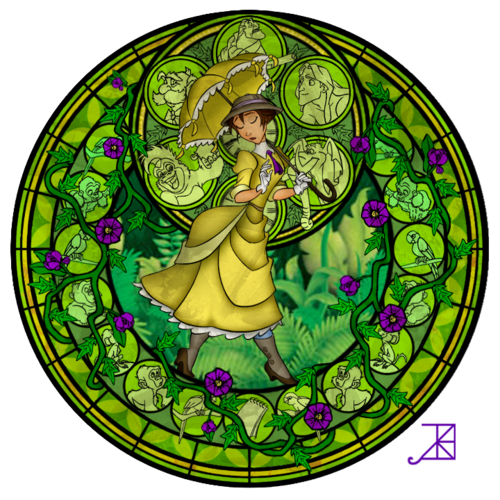Jane Porter Stained Glass