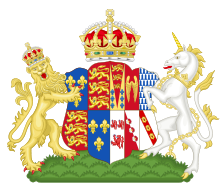 Jane Seymour's mantel of arms