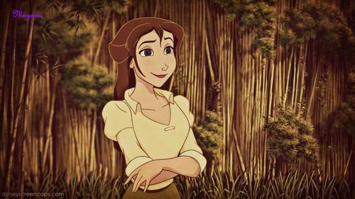 Disney Females wolpeyper called Jane