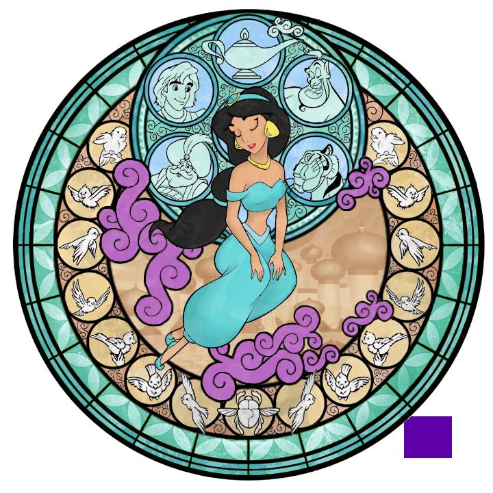 Aladdin Jasmine Nude 37