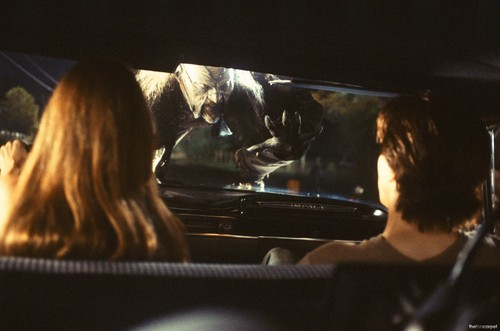 Horror films achtergrond called Jeepers Creepers