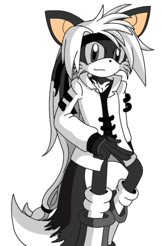 Jego the Colorless Fox...Almost