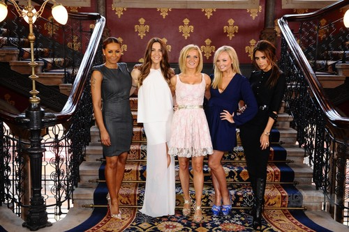 "June 26th - London - Spice Girls at a photocall for the launch of ""Viva Forever Musical"""