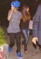 Justin & Selena Dinner date at Pink Pepper last night - justin-bieber-and-selena-gomez photo