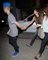 Justin & Selena Dinner date at Pink Pepper last night - justin-bieber-and-selena-gomez photo