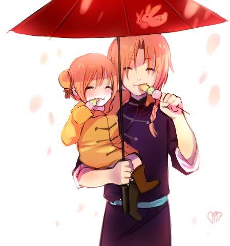 Kagura and Kamui :3