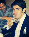 Kaka during his cousin wedding in Brazil last week