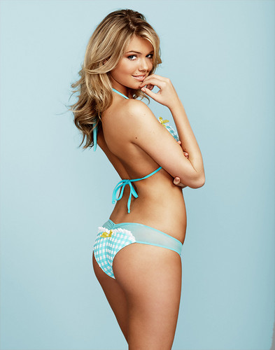 Kate Upton wolpeyper with a bikini titled Kate - Mix